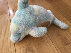 沖縄のおみやげ 沖縄美ら海水族館 イルカのぬいぐるみ
