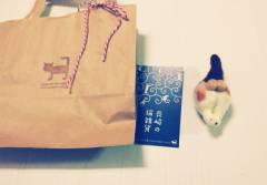 長崎のおみやげ 猫のマグネット
