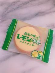 栃木のおみやげ レモン牛乳タルトクッキー