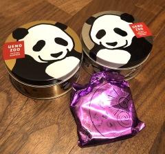 東京のおみやげ 上野動物園 パンダ缶セット