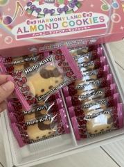 大分のおみやげ ハーモニーランド アーモンドクッキー ハローキティ