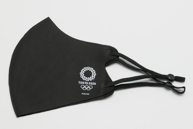 2020 接触冷感マスク 黒