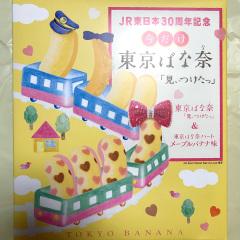 東京のおみやげ JR東日本30周年記念 今だけ東京ばな奈「見ぃつけたっ」