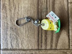 熊本のおみやげ 熊本からしれんこんキーホルダー