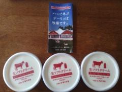 北海道のおみやげ Fresh Soft Cream 生ソフトクリーム