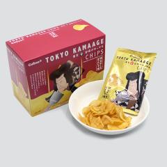 東京のおみやげ 東京釜揚げチップス 明太チーズもんじゃ味