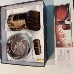 秋田のおみやげ 角館の桜皮細工 お茶の友セット
