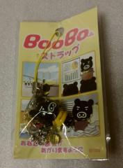 東京のおみやげ BooBoストラップ