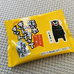 熊本のおみやげ 熊本ぎゃん行ってぎゃんプリントクッキー