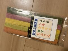 奈良のおみやげ 森栄進堂 野菜三輪素麺