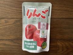 秋田のおみやげ 増田高校産ふじ100%使用 りんごジュース