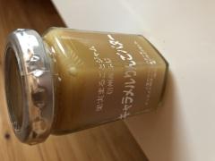 長野のおみやげ ツルヤ キャラメルりんごバター